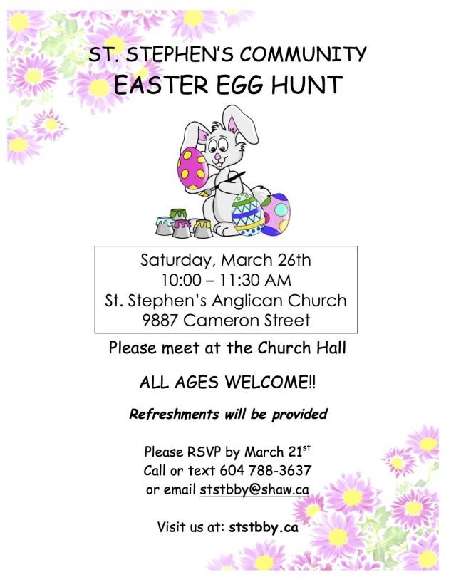 EASTER EGG HUNT- Poster