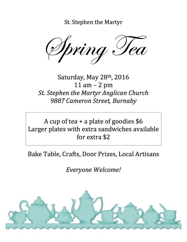 spring tea poster 2016